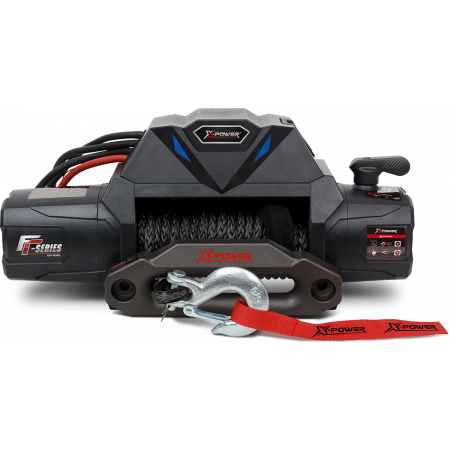 10000 lb Integrated Electric Winch with Synthetic rope